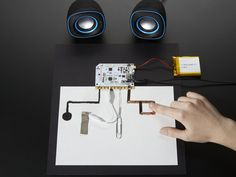 Interesting things you can do with the Conductive Materials, Diy Electronics, Your Paintings, Hand Modeling, Boards, Touch, How To Make, Kids, Design