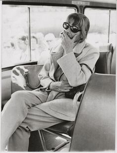 1970s--she rode the NYC bus