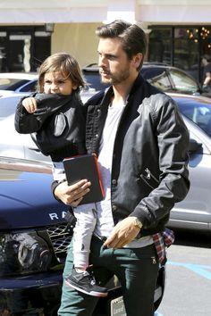Scott Disick and son Mason