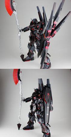 MG 1/100 Nu Gundam Ver. Ka 'Murder' - Custom Build Modeled by Kouichi CLICK HERE TO VIEW FULL POST...