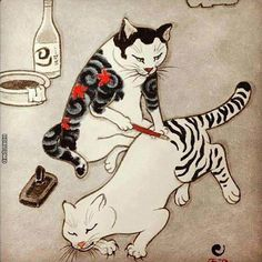 How cats really get their markings.