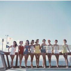 Fotokunst Lake Tahoe Ladies - 60 x 60 cm - med ramme