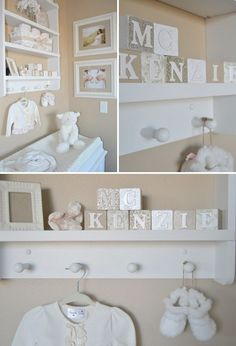 Plate shelf in nursery