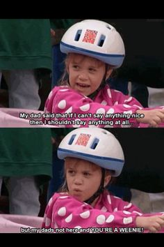 17 Times Michelle Tanner Was The Ultimate 17 Times Michelle Tanner Was The Ultimate Michelle Tanner Full House Funny, Inspiring Quotes<br> Find out why Michelle Tanner was the ultimate girl boss. Michelle Tanner, Full House Funny, Full House Quotes, Full House Memes, Thats 70 Show, Best Insults, My Dad Says, I Love Cinema, Back In The 90s