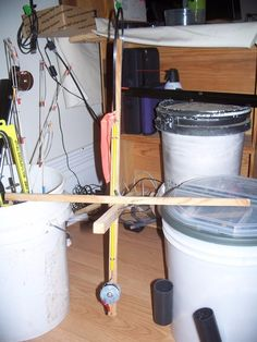 1000 images about miscellaneous homemade tools on for Homemade ice fishing tip ups
