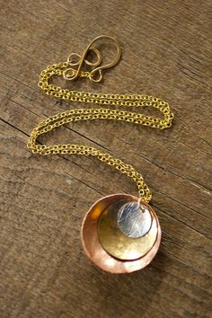 Infinity Necklace by RootsAndWingsJewelry on Etsy