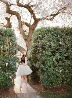 Jane- a DC cherry blossom ballerina session Photo By Abby Grace Photography