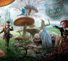... falling down the rabbit hole yourself and into Lewis Carroll's