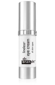 A known celebrity favorite, Dr. Brandt Lineless Eye Cream is ideal even for those with sensitive skin. This anti-aging, anti-oxidant essential maintains a youthful eye contour with vitamins C and E to help the skin look younger by reducing the appearance of fine lines and wrinkles.