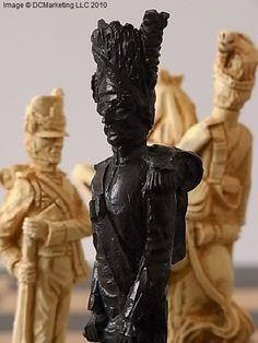 Battle of Waterloo Plain Theme Chess Set