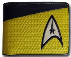 Star Trek Yellow Command Bi-Fold Wallet