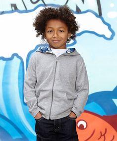 Gray Dylan Hoodie - Infant, Toddler & Kids