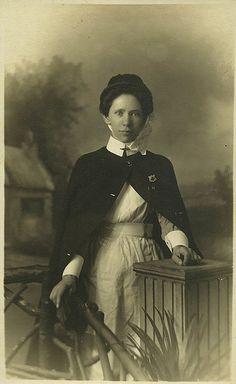 Unidentified Nurse,Holloway Rd Photographer.