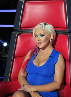 Christina Aguilera, GET THE LOOK - VOICE SHOW LAST NIGHT