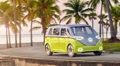 2025 Volkswagen I.D. Buzz Concept Image