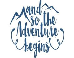 And So The Adventure Begins Hand Painted Wood Sign by corkaholics
