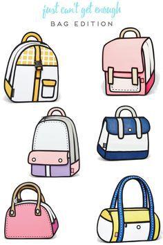 Cute Clipart ❤️                Cute Food Drawings, Cute Kawaii Drawings, Easy Drawings, Cartoon Drawings, Drawing Anime Clothes, Manga Clothes, Drawings Of Clothes, Jump From Paper, Shopping Queen