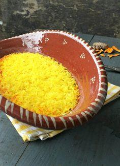 Arroz de Curcuma | Tumeric Rice