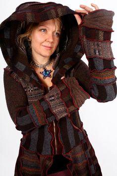 Ladies Night Mini-Coat WOOL-FREE MEDIUM by katwise on Etsy So ...