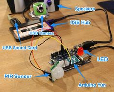 You Can't Touch This! Arduino Yún Alarm System