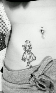 An Alice tattoo!  What a great idea.