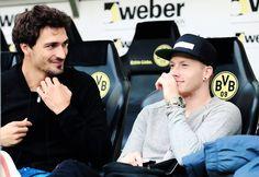 Two handsome Boys ;) Mats Hummels, Marco Reus <3