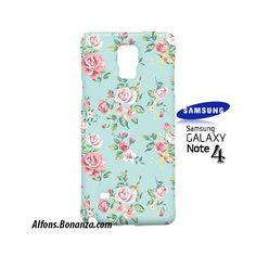 Beautiful Flowers Samsung Galaxy Note 4 Case