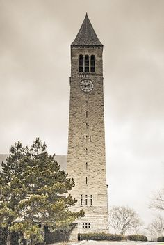 McGraw Clock Tower
