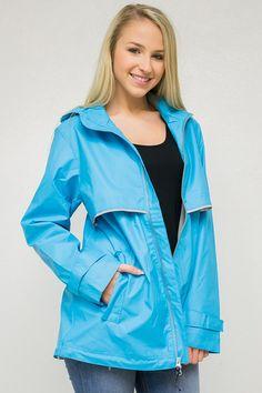 Wind & Waterproof Rain Jacket