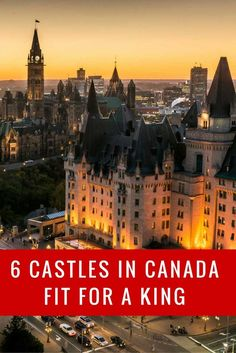 Canadian castles and forts | 6 Castles in Canada http://travel2next.com/canadian-castles-forts-6-castles-canada/?utm_campaign=coschedule&utm_source=pinterest&utm_medium=Travel%202%20Next&utm_content=Canadian%20castles%20and%20forts%20%7C%206%20Castles%20in%20Canada