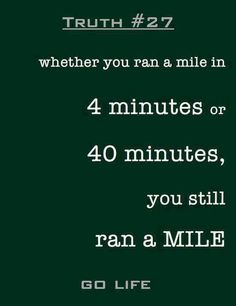 A mile is still a mile #fitness #zenlabsfitness #everymomentcounts #running #c25k #couchto5k