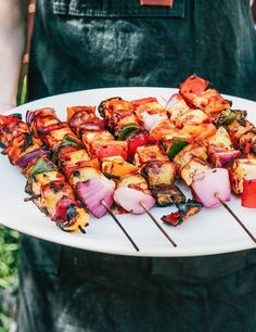 Recipe: Bryant Terry's Grilled Vegetable and Tofu Kebabs — An Afro-Asian 4th of July