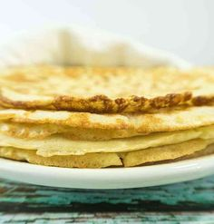 These Almond Flour Tortillas are super soft pliable wraps great for tacos, burritos, sandwich wraps and so much more. Gluten Free Tortillas, Low Carb Tortillas, Flour Tortillas, Cauliflower Tortillas, Almond Flour Tortilla Recipe, Almond Flour Recipes, Coconut Flour, Sugar Free Recipes, Gluten Free Recipes