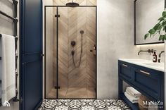 Pin on Syców Bathroom Design Inspiration, Modern Bathroom Design, Bathroom Interior Design, Interior Design Living Room, Bathroom Renos, Laundry In Bathroom, Small Bathroom, House Ideas, House Design