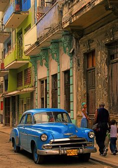 Color in Havana. Cuba is the one of most popular new destinations for your bucketlist. I can connect you with this supplier. http://ytbtravel.com/ymadison
