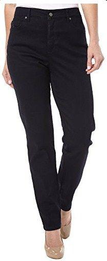 Gloria Vanderbilt Womens Amanda 2.0 Jeans 18 Sycamore denim wash