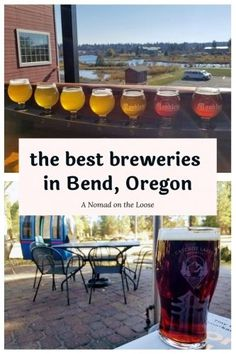 The Best Bend Breweries (That Are Dog-Friendly!) | A Nomad on the Loose Canada Travel, Travel Usa, Travel Tips, Travel Destinations, Top Craft Beers, Local Brewery, Pub Food, Brew Pub, Best Food Ever