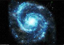 Galaxie Karte im Browsergame Final Cumeda