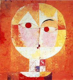 Paul Klee Senecio painting for sale - Paul Klee Senecio is handmade art reproduction; You can buy Paul Klee Senecio painting on canvas or frame. Cubist Paintings, Cubism Art, Paul Klee Art, Franz Marc, Abstract Portrait, Abstract Art, Portrait Art, Art Moderne, Art Abstrait