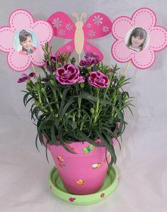 Fête des grands-mères : le pot de fleurs maison