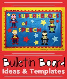 Year Round Bulletin Board Ideas & Templates by teachingtalking.com