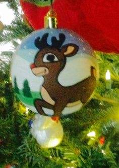 Rudolph The Red Nose Reindeer.
