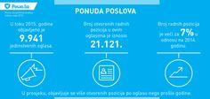 Pregled stanja tržišta rada BiH za 2015. godinu, prema rezultatima Posao.ba godišnje analize.