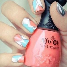 Criss-cross #nails!