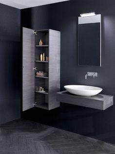 Edge Steel Bathroom Furniture Range from Crosswater http://www.bauhaus-bathrooms.co.uk/category/bauhaus-furniture-edge-steel/