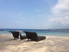 Die Gili Inseln auf Lombok, Indonesien locken mit besonderen Stränden & Küsten. #Indonesien #Lombok #Gili #erlebeFernreisen