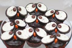 Morsomme ugle-muffins på 1-2-3 | Søte øyeblikk