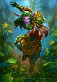#hearthstone #wowtcg #warcraft #elfe #elf #druide #druid http://www.helpmedias.com/wow.php