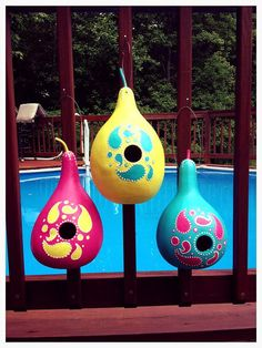 Paisley Gourd Bird House by BusshartDesigns on Etsy