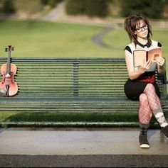 Lindsey Stirling Note: Literature and Music: 2 of my favorite things in the whole world!